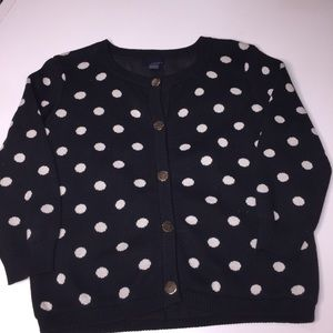 Forever 21 black and white cardigan
